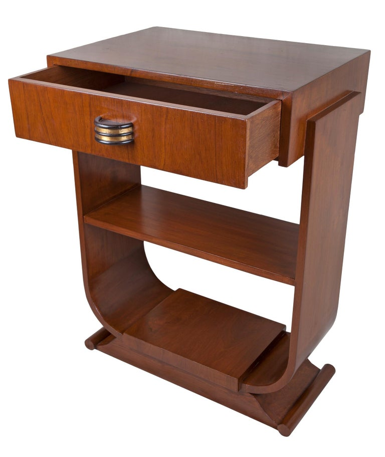Pair of Mid-Century Modern Teak Side Tables For Sale 2