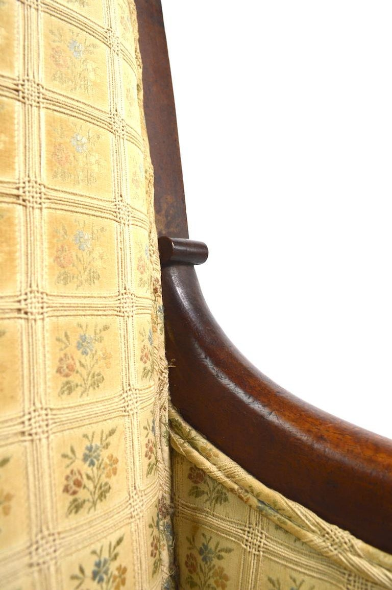19th Century Empire Tub Chair For Sale 1