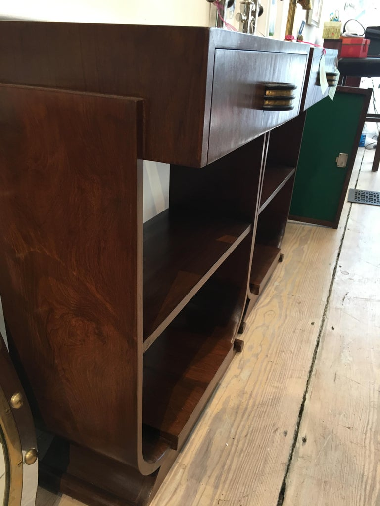 Pair of Mid-Century Modern Teak Side Tables For Sale 5