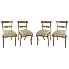 Chairs by George Bullock, Set of 4, England, 1816