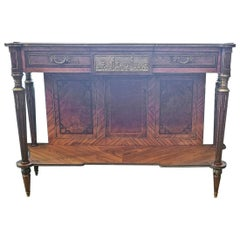 19th Century French Louis XVI Breakfast Console Buffet