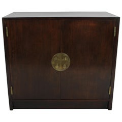 Edward J. Wormley for Dunbar Cabinet with Asian Hardware