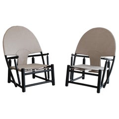 """Pair of """"Hoop"""" Chairs by Piero Palange & Werther Toffoloni"""