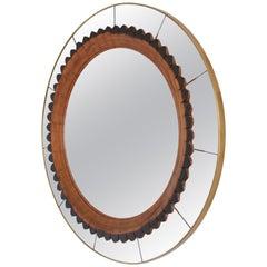Rare Mirror by Fratelli Marelli