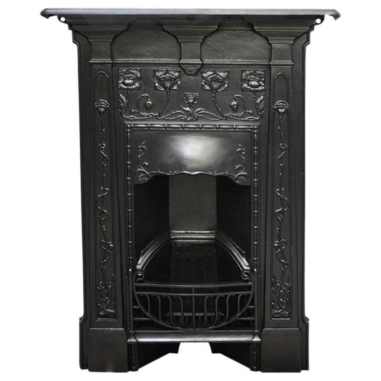 Reclaimed Edwardian Art Nouveau Cast Iron Bedroom