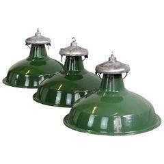 Munitions Factory Lights by Benjamin, circa 1940s