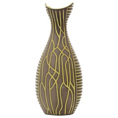 Mid-Century Modern Scandinavian Ceramic Vase by Hjördis Oldfors for Upsala Ekeby