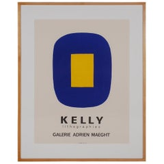 Modern Graphic Art by Ellsworth Kelly Lithographie for Galerie Adrien Maeght