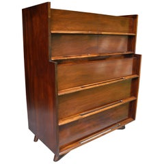 Mid-Century Modern Highboy or Tall Dresser by Edmond J. Spence