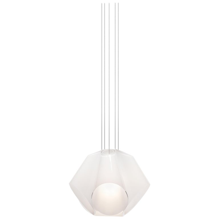 Established & Sons Superconic White Pendant Light by Matali Crasset For Sale