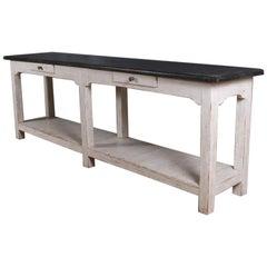 Narrow Potboard Server / Dresser Base