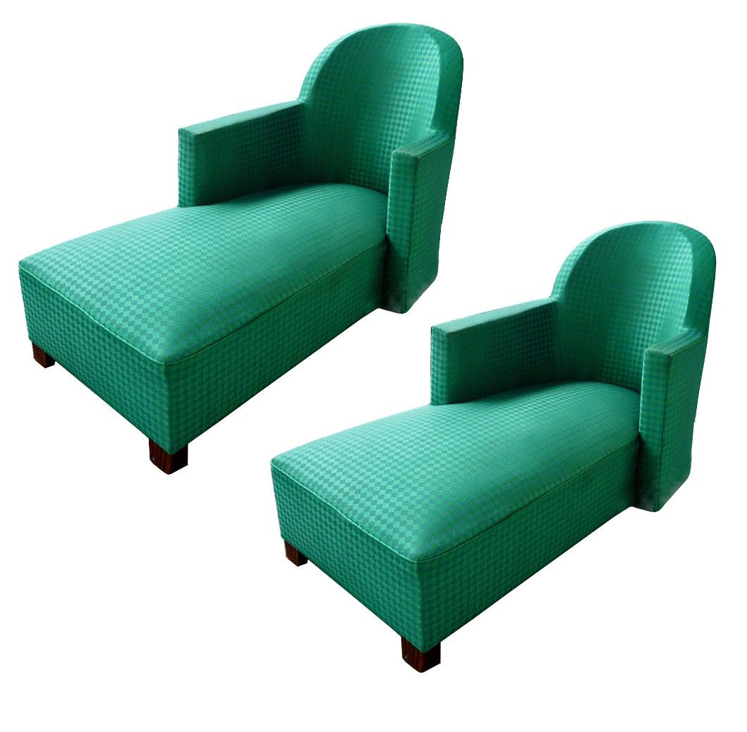 Pair of Art Deco Daybeds, circa 1930