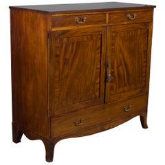 Victorian Period Converted Dresser TV Cabinet Cupboard
