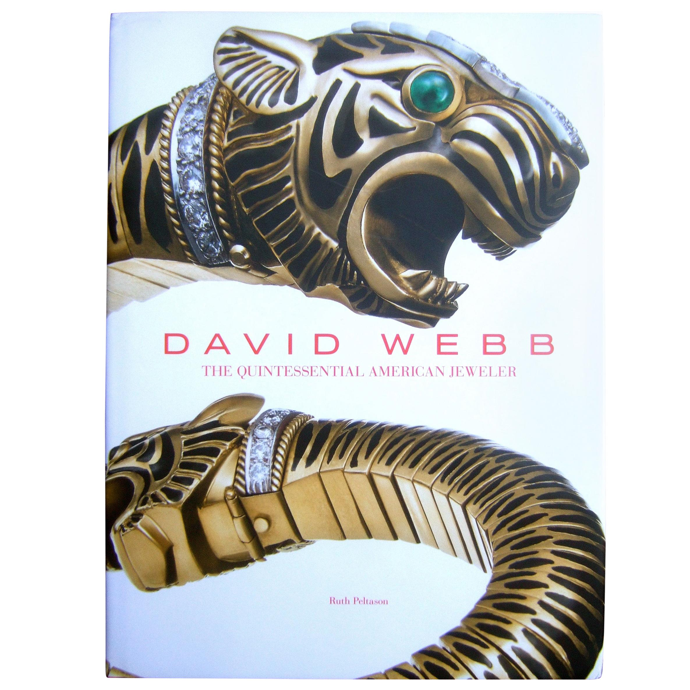 David Webb The Quintessential American Jeweler Book c 2013