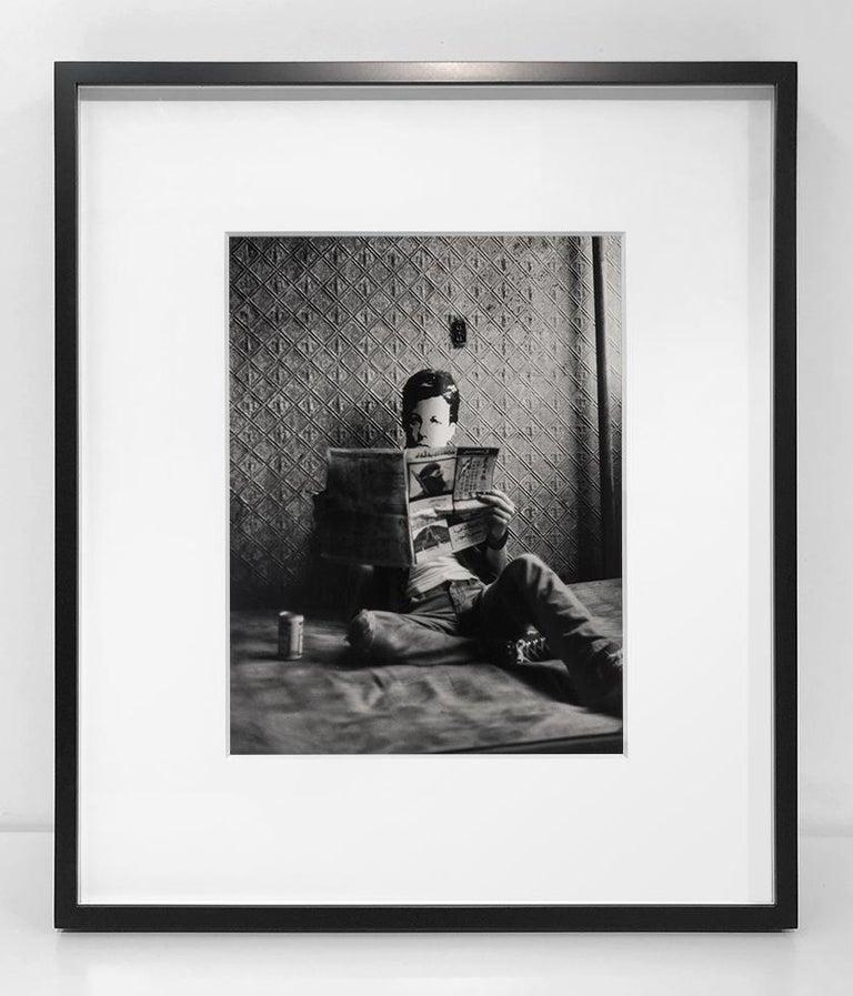Rimbaud in New York - Photograph by David Wojnarowicz