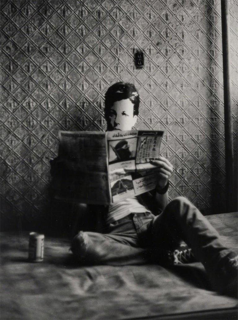 <i>Rimbaud in New York</i>, 1978-79/2004, by David Wojnarowicz, offered by ClampArt