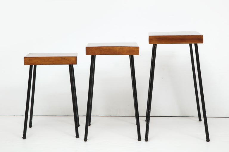 American David Wurster Nest of Tables for Raymor For Sale