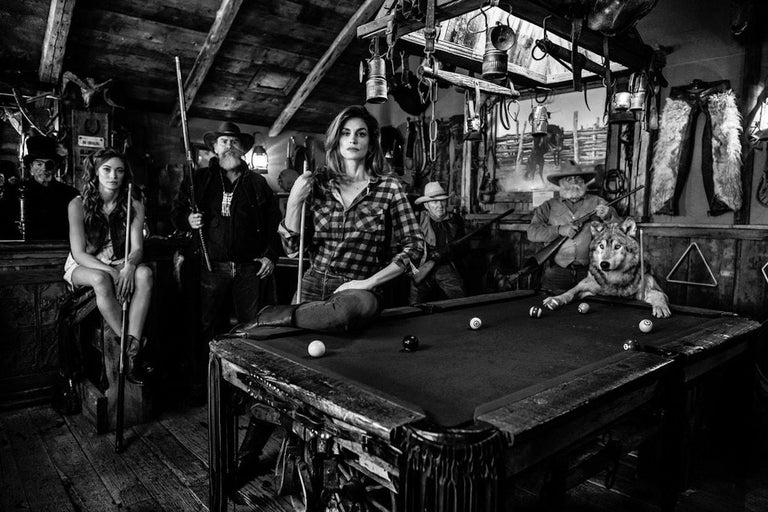 David Yarrow Black and White Photograph - American Hustle