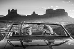 David Yarrow, The break-up, Monument Valley, Contemporary