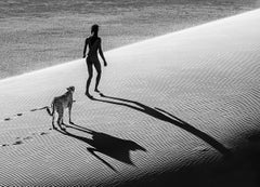 On the catwalk