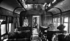 Ride The Ghost Train, Contemporary Black and White photography