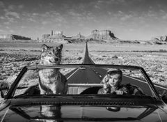 Road trip, Archival pigment print, Contemporary Black and White photography