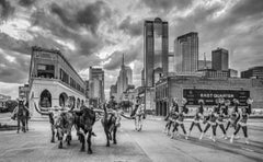 The Dallas Cowboys (B&W)