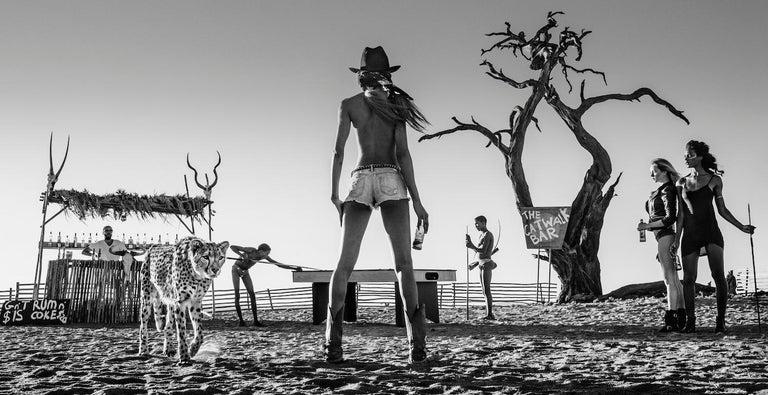 David Yarrow Black and White Photograph - The Good, The Bad & The Ass, Contemporary Black and White photography