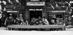 The Last Supper, Archival Pigment Print,Contemporary Black and White photography