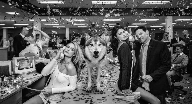 David Yarrow Portrait Photograph - The Wolves of Wall Street II