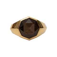 David Yurman 18 Karat Gold Ring