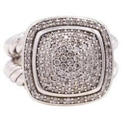 David Yurman Albion Diamond Ring