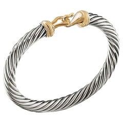 David Yurman Buckle Bracelet with Yellow Gold B04460 S4