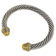 David Yurman Cable Classics Bracelet with 14k Gold