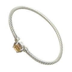 David Yurman Chatelaine Buckle Bracelet with Yellow Citrin