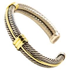 David Yurman Cuff Bracelet, Vintage
