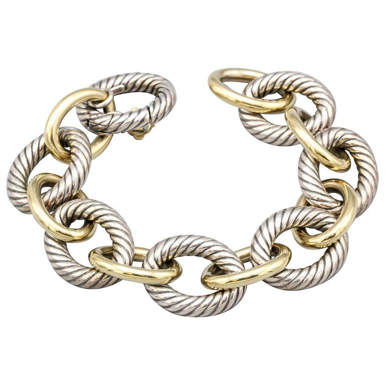 David Yurman Link Bracelet