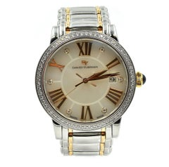 David Yurman Rose Gold Diamond Mother-of-Pearl Quartz Wristwatch Ref T716-M