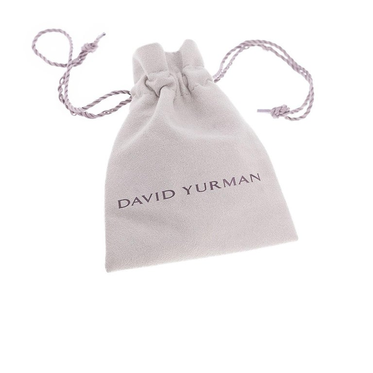 Item Details: Main Stone - Shape Cushion Main Stone - Black Orchid (Amethyst Hematine Doublet) Secondary Stone - Diamond Secondary Stone Weight - 0.27 ctw Estimated Retail - $1,475.00 Brand - David Yurman Collection - Albion Metal - Sterling