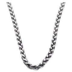 David Yurman Sterling Silver Cable Necklace