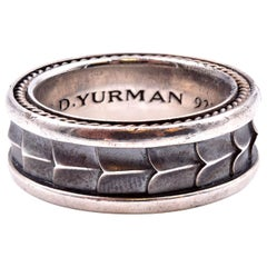 David Yurman Sterling Silver Dragon Scale Ring