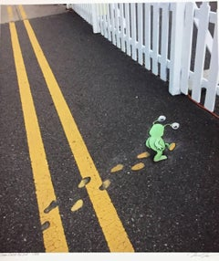 Sluggo Crosses the Line