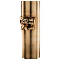 David's Lips Golden Vase