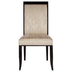 Davidson's Classic Senley Chair in High Gloss Sycamore Black Wood