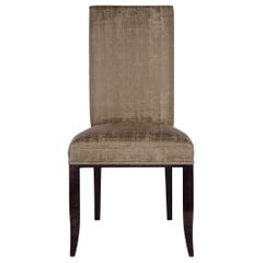 Davidson's Contemporary Ensor Chair in High Gloss Sycamore Black Wood