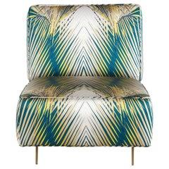 Davis Armchair in Fabric by Roberto Cavalli Home Interiors