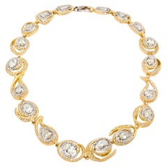 d'Avossa Necklace from the Masterpiece with White and Jonquille Diamonds