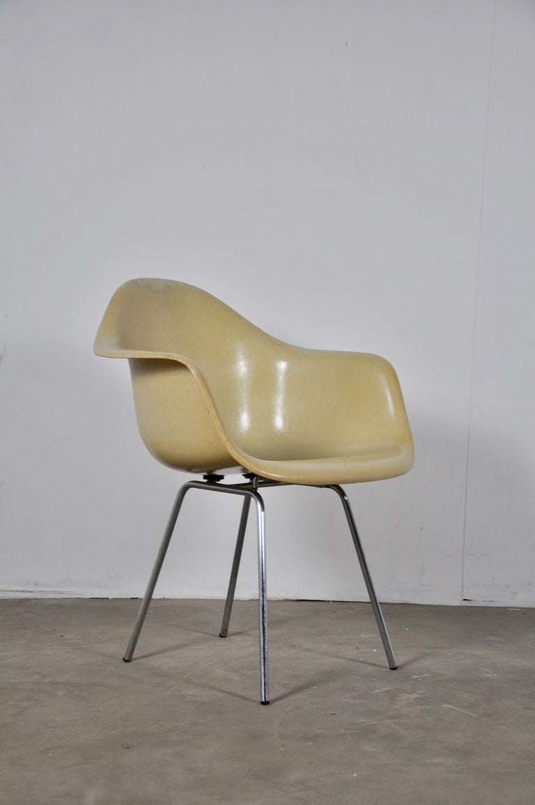 DAX Dining Chairs by Charles and Ray Eames for Herman Miller 1960s Set of 6 For Sale 2