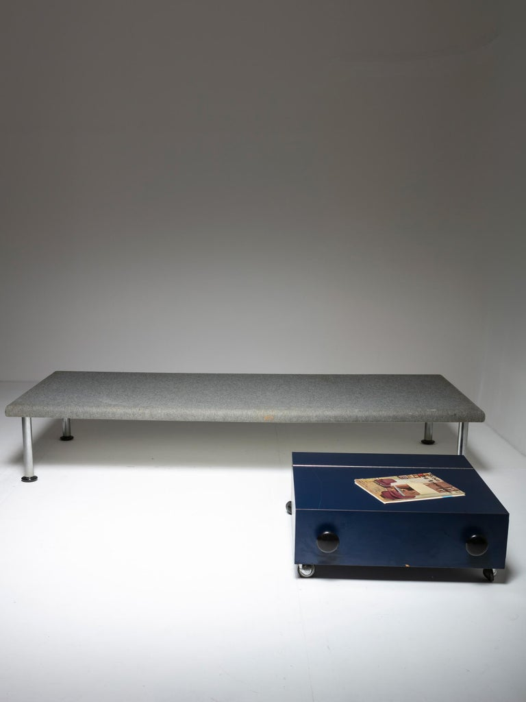 Day Bed and Case Piece by Roberto Gabetti & Aimaro Isola In Good Condition For Sale In Milan, IT