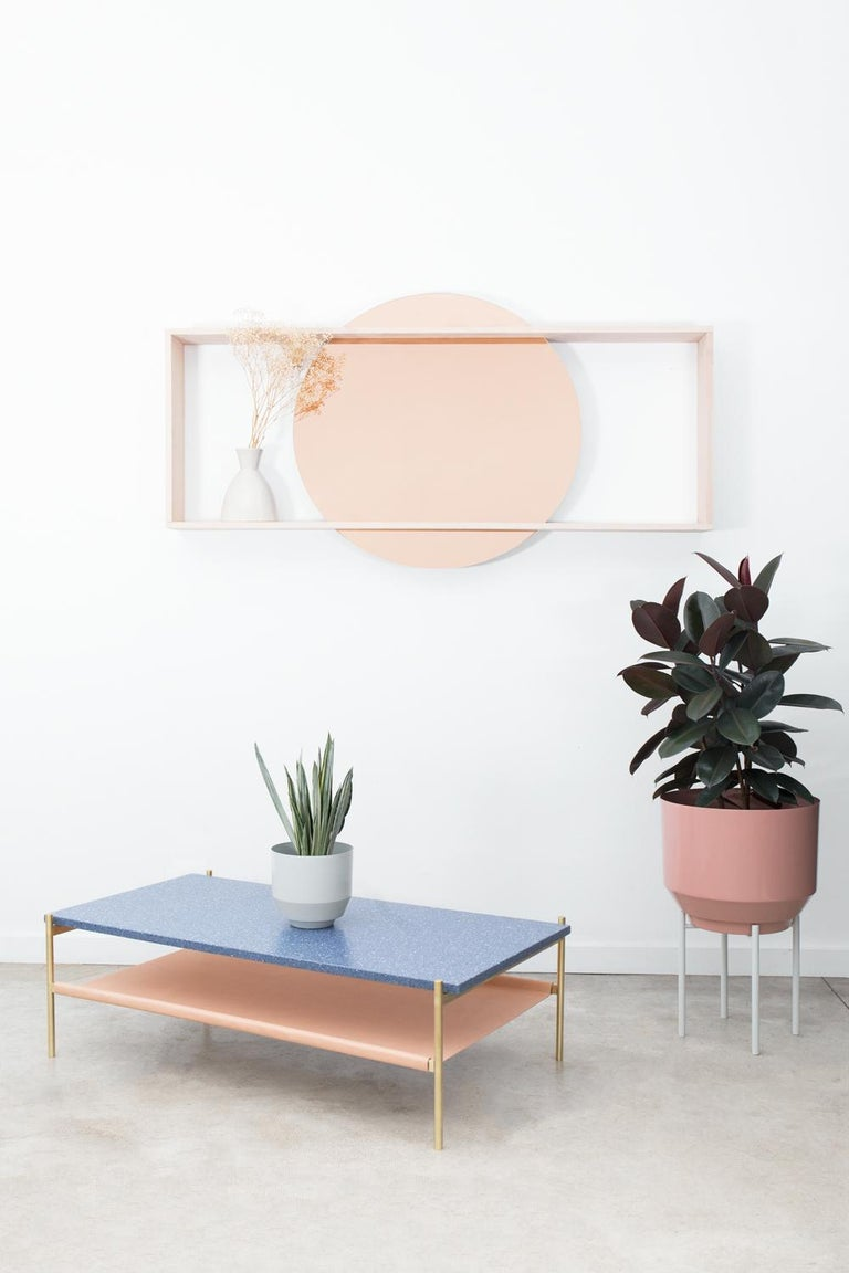 Modern Day Mirror, Rose For Sale